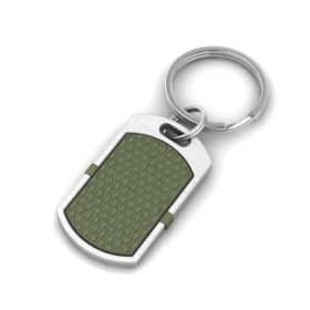 New York contactless payment wearable key fob pendant khaki green main view
