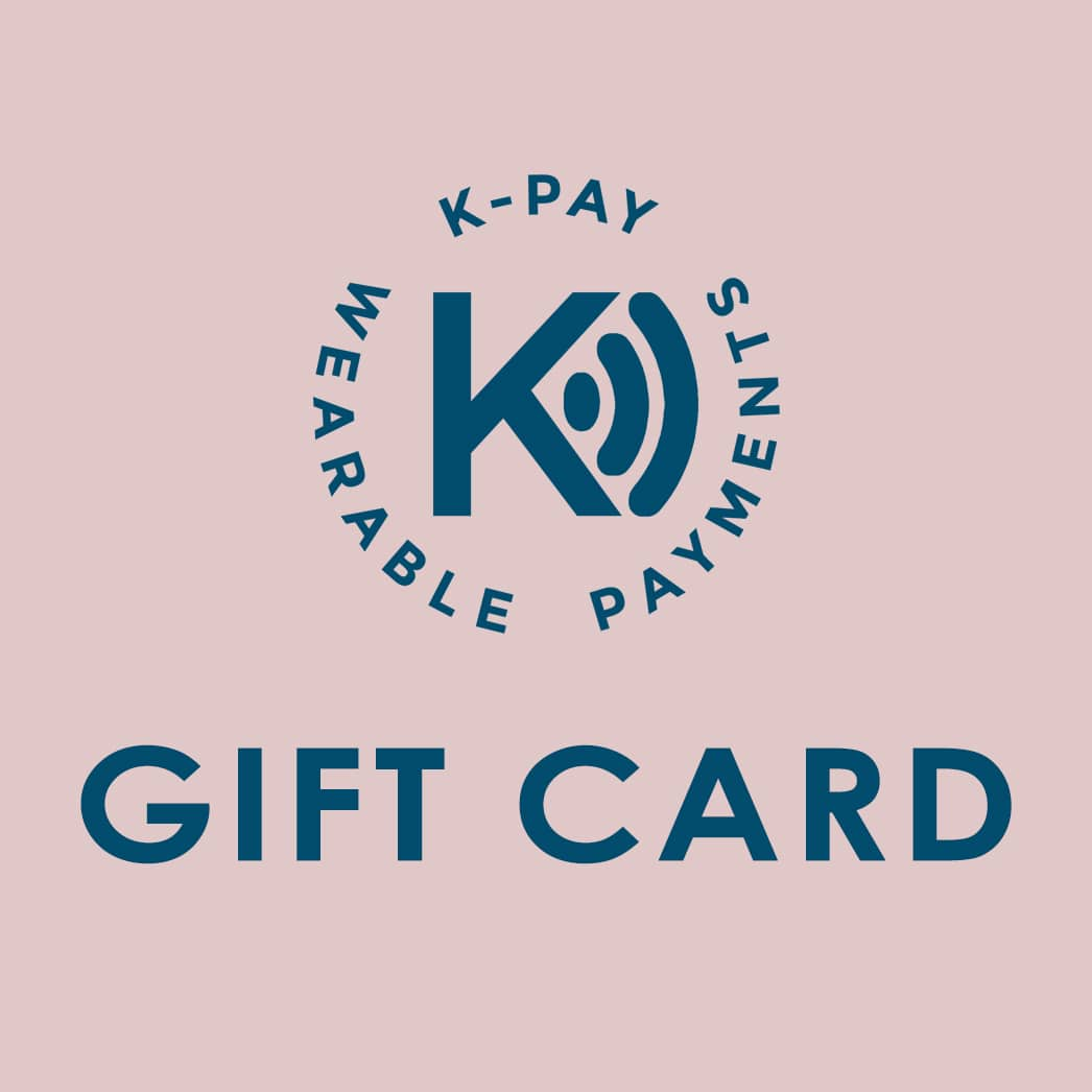 Gift card voucher for contactlesss payment wearables
